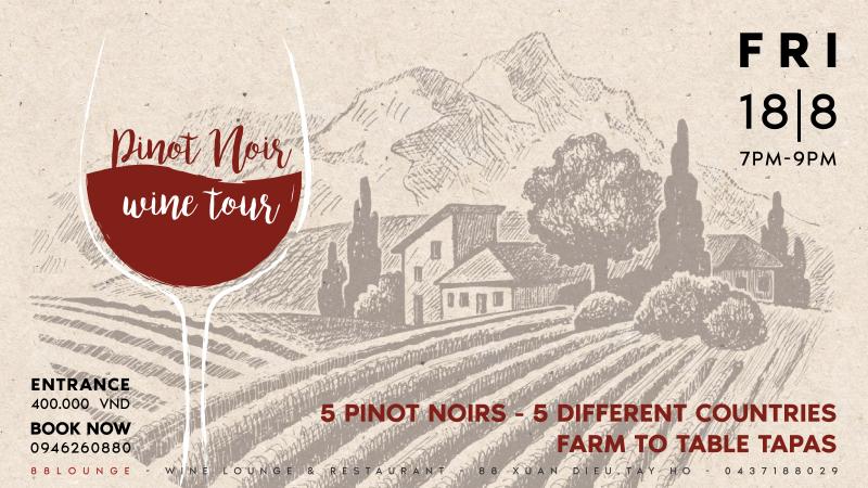 Pinot Noir Wine Tour